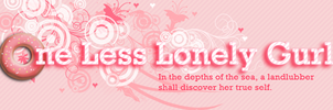 One Less Lonely Gurl - New Logo by el-Jimmeister