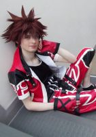 Sora Valor Form Cosplay by DeadPhantoms