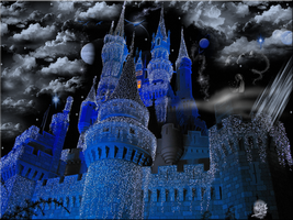Cinderella Castle Christmas by WDWParksGal