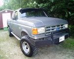 My dad's awesome truck by LoneRBlackWolf