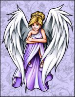 Angel in Lavender by ArtfulJessica