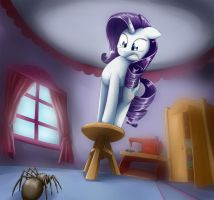 Large Spider by otakuap