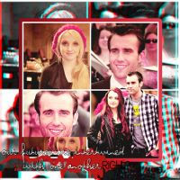 Evanna Lynch and Matthew Lewis Collage by Luiisa9612