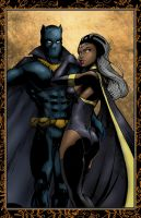 Storm Black Panther by ChrisMcJunkin