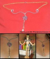 Woven Metal Necklace 1 by Pokemon-Chick-1