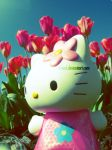 Hello Kitty Meets Nature. by vivienL
