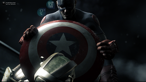 Captain America by pud3ld3st0d3s