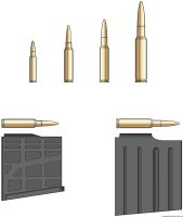 .338 Lapua Magnum and .408 Chey Tac Ammo by Scarlighter