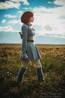 Nausicaa of the valley of the wind by Krieitor