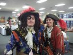 N.E. Geek Expo 2015 Captains Greyhound and Saphire by Edward-Smee