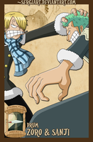 EPP - Drum: Zoro and Sanji by SergiART