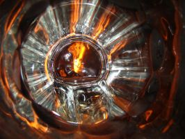 Fire glass with flash by Denece-the-sylcoe