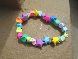 My Paper Star Bracelet by Bjnix248