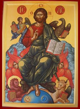 Jesus on Cherubim by logIcon