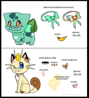 Pokemon designs -Contest Entry- by Sliced-Penguin