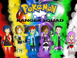 Pokemon Ranger Squad by UMSAuthorLava