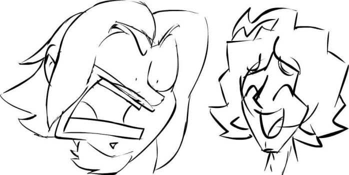 Game Grumps Your A Freak Sketch by JeffKyler14