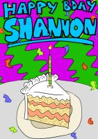 Shannon's Birthday Card by Zorrothe2nd