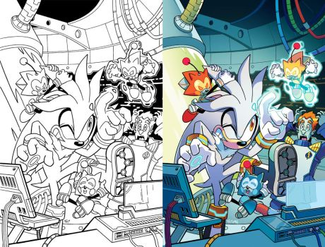 Sonic Universe 80 Cover by herms85