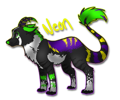 Neon Glow .: Commission :. by NeonWolfGlow