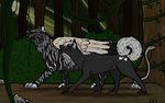 The Chimera and the Wolf by ShamelessAardvark