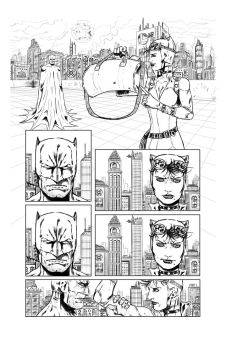 ''Catwoman'' Sample Page 1 by Axel2396