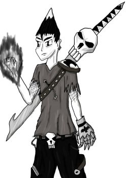 Garret from Super Goth by ColdFlames0