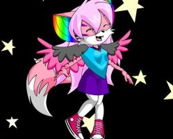 Me in sonic form ReMaDe AGAIN by Tobi501