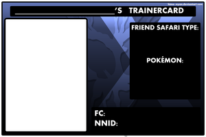 Pokemon X Trainercard [FREE TO USE] by Hime--Nyan
