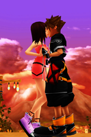 MMD KH - I'm Still Into You - SoKai by XxChocolatexHeartsxX
