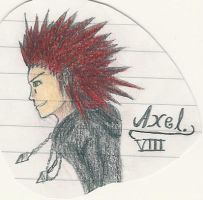 Axel _ With Colours by AkatsukiFan505