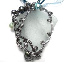 Shadowsea Pendant no. 17 by sojourncuriosities