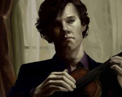 Sherlock by CaptainSketching