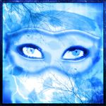 Mask in Blue by Nnahla