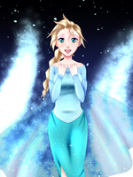:Frozen: Elsa Let it go~ by KirCorn