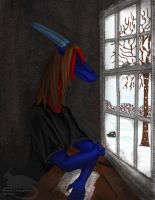 Though the Glass by Ravenfire5