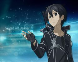 SAO Kirito winter 21-10-12 by Skyze by Takuneru