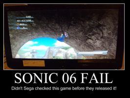 Sonic 06 Fail by smithandcompanytoons