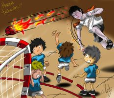 Yamil Handball by DrawingSpirit2015