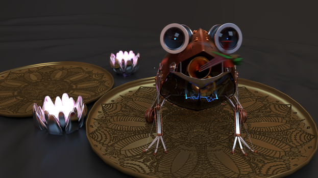 Steam frog final 2 by ghostcero