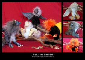 Ren Faire Basilisks by WormsandBones