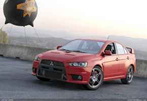 Mitsubishi Evolution X by JohnZi