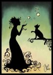 Witch of the Bubbles by yenefer