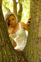 Hannah - through the tree 1 by wildplaces