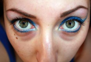 Sectoral Heterochromia by SugarZombieDoll