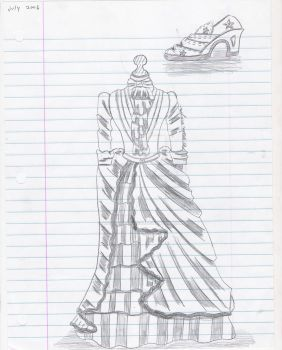 Shoe and Dress by Anti-paradoxical