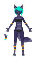 Scenie Anthro- Galactic Hunter [AUCTION!] [CLOSED] by Xecax