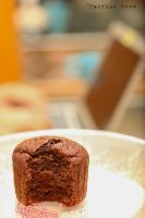 Molten chocolate cupcake 3 by patchow