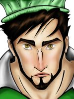 Sherdil the Pakistani Superhero by ArsalanKhanArtist