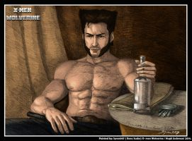 X Men Wolverine by syren007